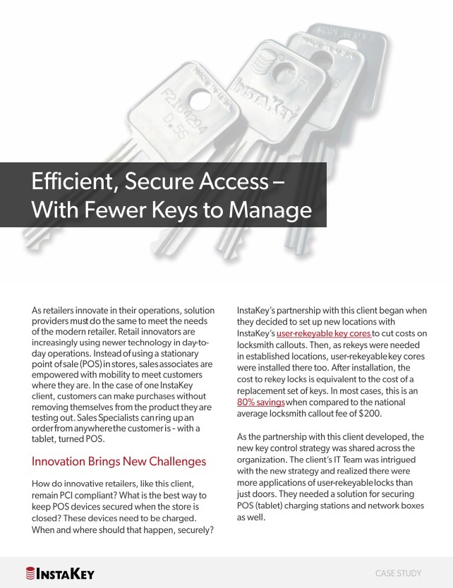 Efficient, Secure Access - With Fewer Keys to Manage
