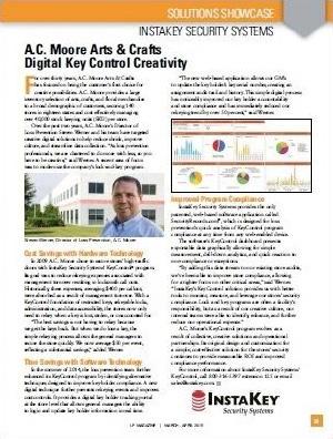 A.C. Moore Arts & Crafts – Digital Key Control Creativity