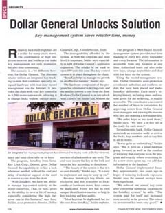 Dollar General Unlocks Solution