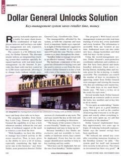 Dollar General Unlocks Solution