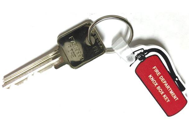 Fire Key Tag
