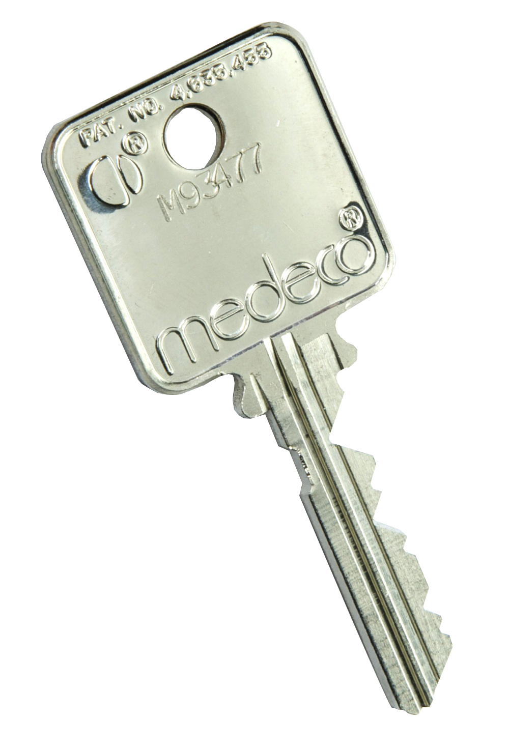 HSEC Medeco Key Back