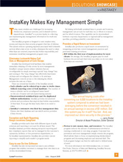 InstaKey Makes Key Management Simple