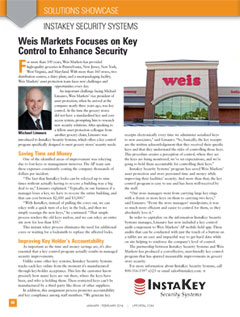 Weis Markets Focuses on Key Control to Enhance Security